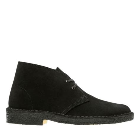 desert boot black suede s booties ankle boots