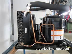 moteur de chambre froide froid01 le circuit frigorifique de base dans une chambre