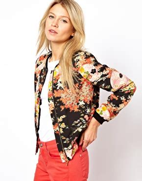 Meet The Cq Team La Rue by Floral Bomber 7 Stylish Jackets For 2013