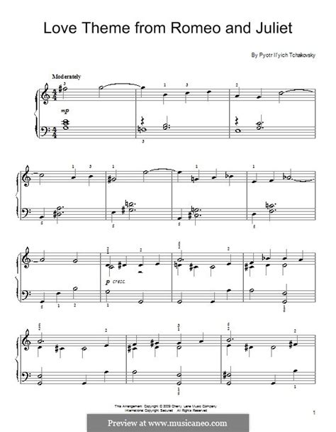 love theme romeo and juliet guitar love theme romeo and juliet th 42 by p tchaikovsky on