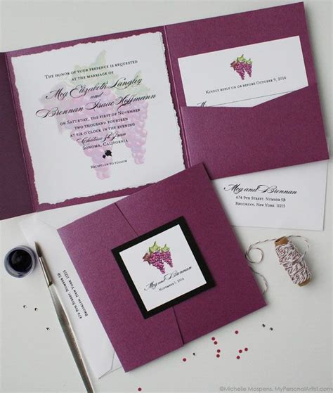 Grape Theme Wedding Invitations by 81 Best Images About Wine Country Wedding On