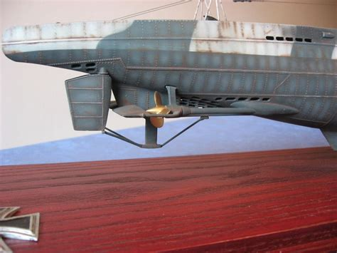 u boat viic u boat type viic u 82 scale model