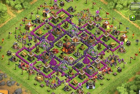 clash of clans war base familia del clan the clones ayuntamiento 10 ejemplos de