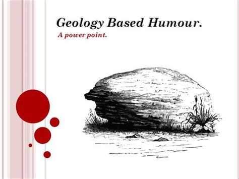 powerpoint themes geology geology based humour authorstream