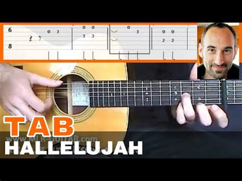 tutorial guitar hallelujah video tab quot hallelujah quot mlr guitar lessons on youzeek com