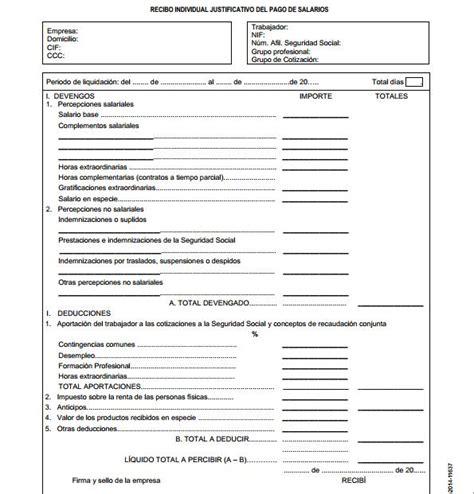 nomina de un empleado 2016 el nuevo modelo de n 243 mina para el 2015 30 ml al d 237 a30 ml