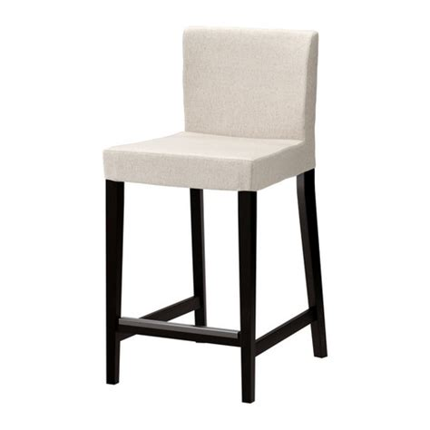 ikea stools henriksdal bar stool with backrest 26x19 quot ikea