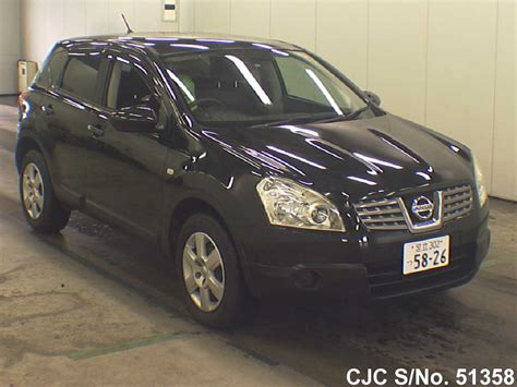 nissan dualis 2008 black 2008 nissan dualis black for sale stock no 51358