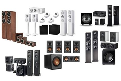 home theater speakers     sound vision
