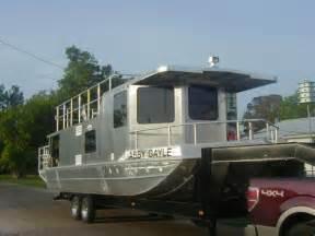 trailerable house boat 2011 homemade aluminum houseboat house boat for sale in southwest louisiana