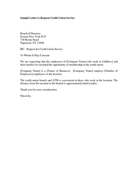Business Letter Request For Credit sle of credit letter request letter exle letters