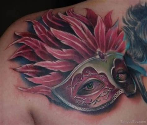 masquerade mask tattoo designs mask tattoos designs pictures page 8