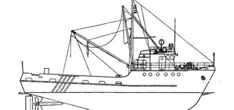 boat drawing pdf model shrimp boat plans blueprints toys pinterest