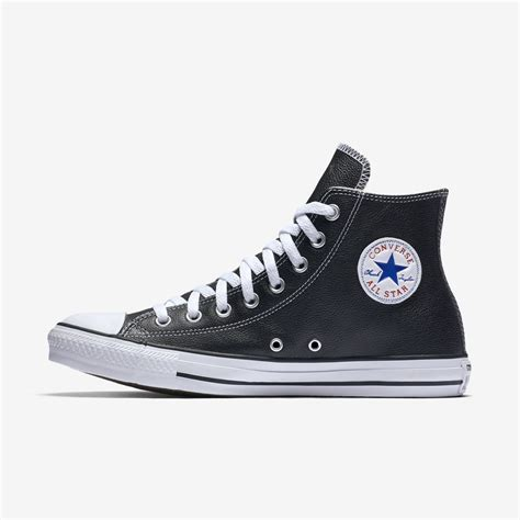 Converse High Convers Allstar converse all leather hi shoes white style guru fashion glitz style unplugged