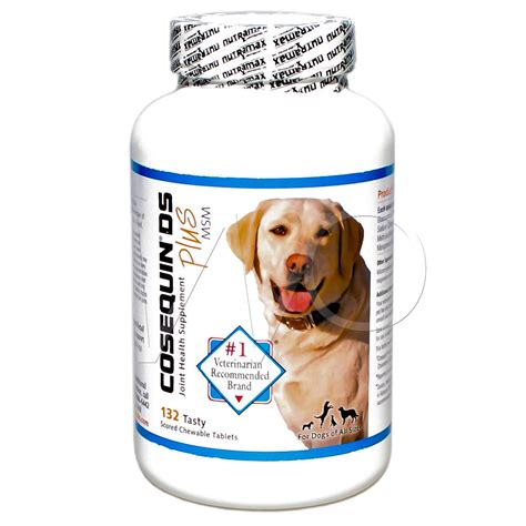 cosequin ds for dogs cosequin ds plus msm for dogs strength 132 chewabletablets nutramax ebay