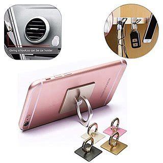 Finger Smartphone Holder Gold universal 360 rotate metal finger ring smartphones