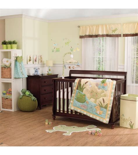 Carters Crib Bedding Set S 4 Crib Bedding Set In The Pond