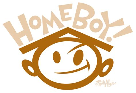 homeboy comics daily day 2 idea for homeboy logo 1