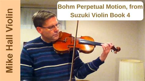 Perpetual Motion Violin Suzuki Book 4 Bohm Perpetual Motion 6 From Suzuki Violin Book 4