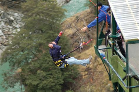 canyon swing new zealand 10 experiences to have in queenstown the atlas heart