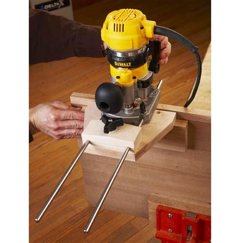 woodworking guides dual purpose router edge guide build this edge guide to