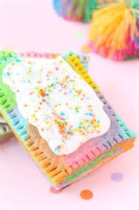 187 rainbow marbled pop tart recipe