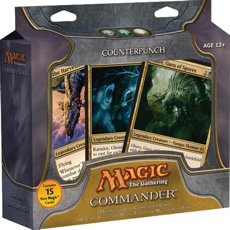 magic the gathering deck magic the gathering commander deck review gamingunplugged