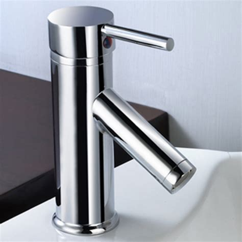 bathroom sink taps chrome finish single lever mono bloc bathroom basin sink mixer tap tall 240mm