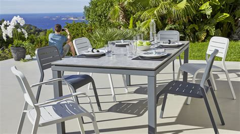 Carrefour Table Et Chaise De Jardin