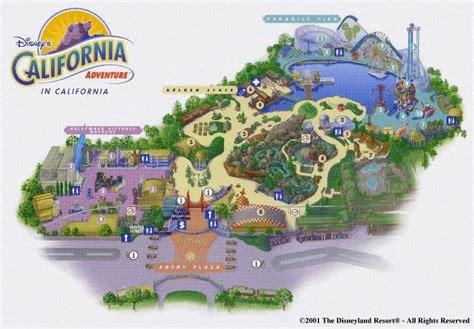 california adventure park map disney s california adventure in the disneyland resort review