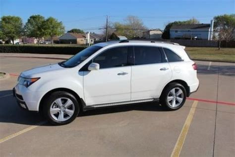 purchase used 2012 acura mdx w technology entertainment