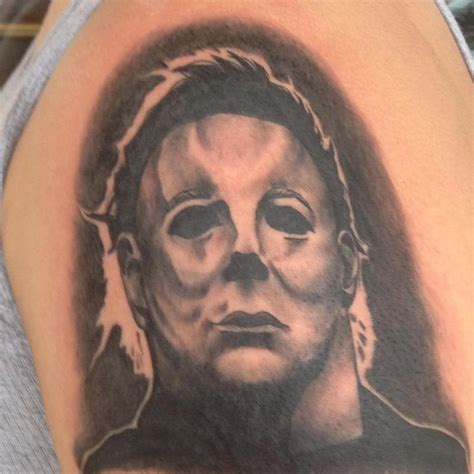 michael myers tattoo michael myers by cat johnson tattoonow
