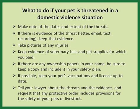 Support Letter For Domestic Violence Victims Including Pets In Protective Orders Lawnow Magazine