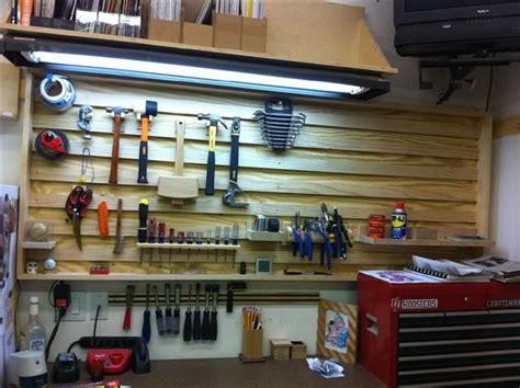 Garage Organization Boards Evolution Of A Shop 13 Tool Board Workbench