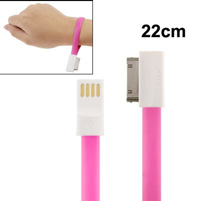 Taff Charging Sync Data Cable For Iphone 55sse taff color noodle bracelet style magnet charging sync