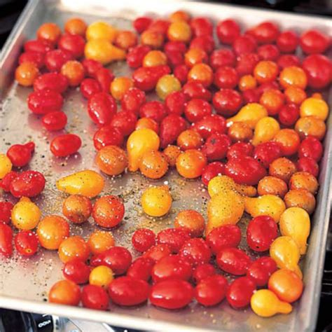 ina garten roasted tomatoes roasted cherry tomatoes recipes barefoot contessa