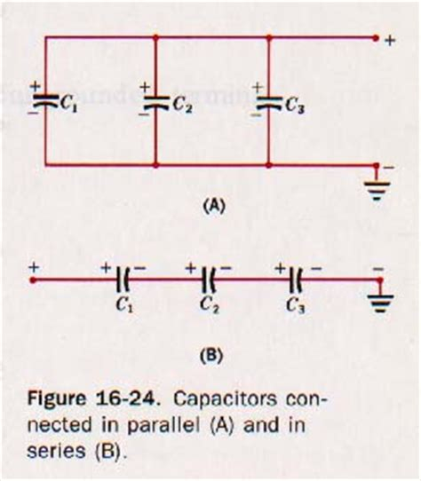 how to connect capacitor in parallel ch 16