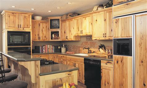 knotty hickory cabinets kitchen kitchen cabinets in lethbridge and area adora kitchens