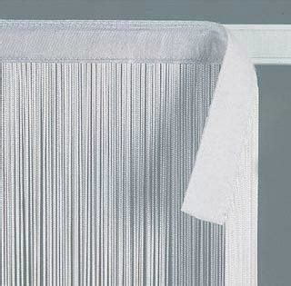 velcro curtains string fringe curtain with velcro heading 3ft wide x 10ft