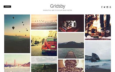 photography grid layout 41 best free wordpress photography themes expert pick