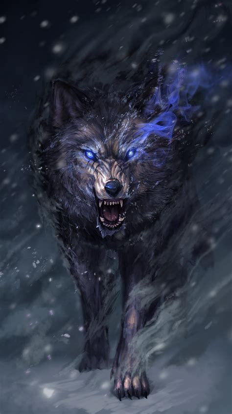 savage wolf live wallpaper android apps on google play