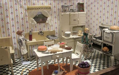 1920s kitchen susan s mini homes arcade toys for the dollhouse a