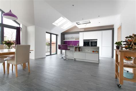 Open Kitchens Designs by Lym Open Plan Kitchen Extension View 4 Transforming