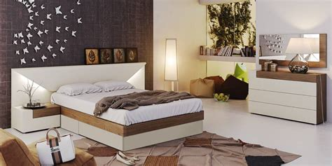 modern italian bedroom set fashionable wood designer bedroom with extra storage
