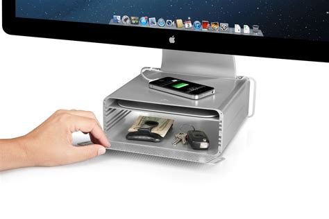 Mac Desk Accessories by Twelve South Hirise For Imac Height