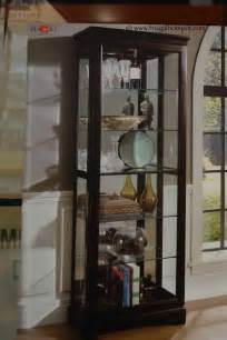 Glass Display Cabinet Costco Costco Pulaski Cambridge Sliding Door Curio Cabinet