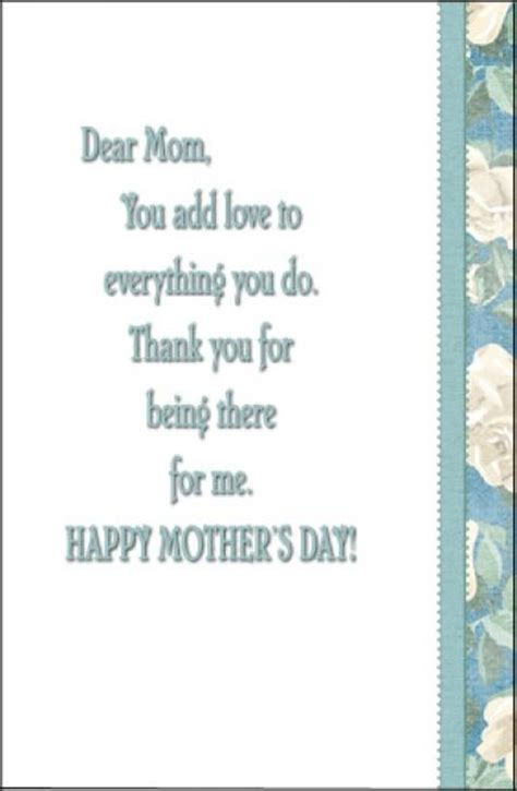 mothers day card messages 17 best images about mother s day messages and quotes on