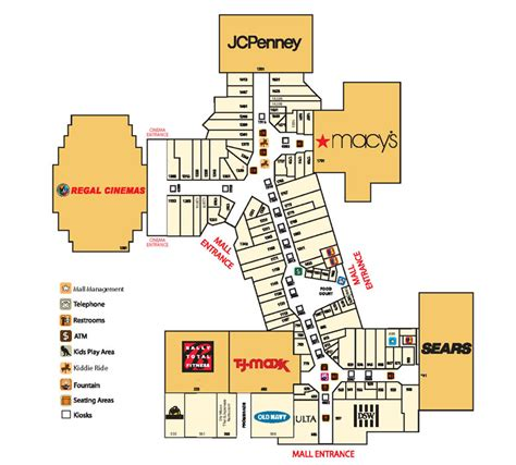 map mall of milford mall directory map fyi studio