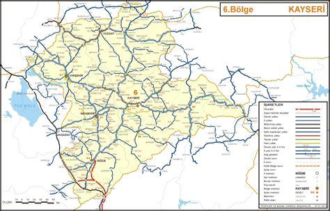 kayseri map map kayseri il turkeyкаппадокия и другая турция путеводитель