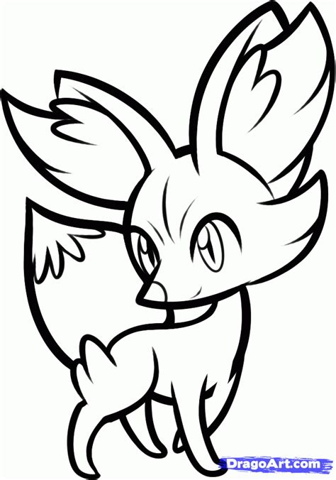 pokemon coloring pages new new pokemon coloring pages x and y how to draw fennekin